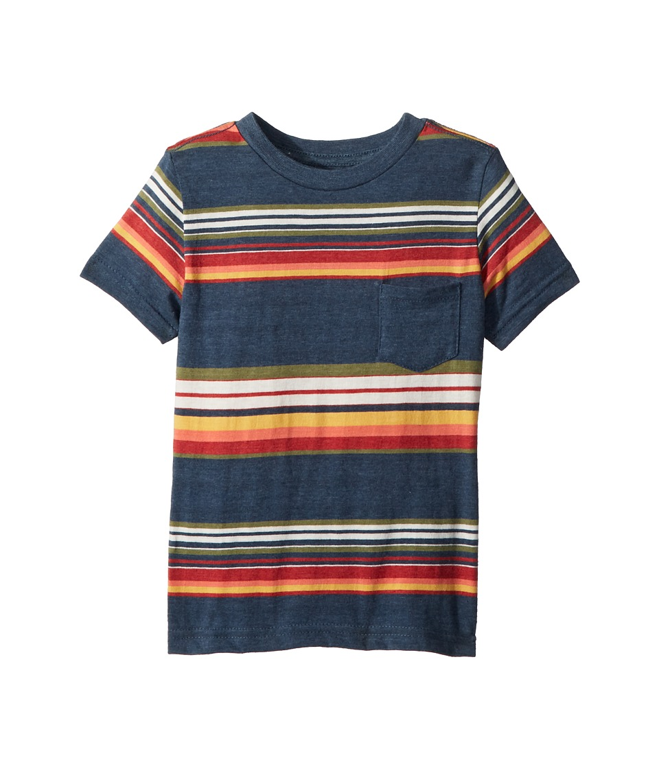 Lucky Brand Kids - Short Sleeve Printed Tee (Toddler) (In...