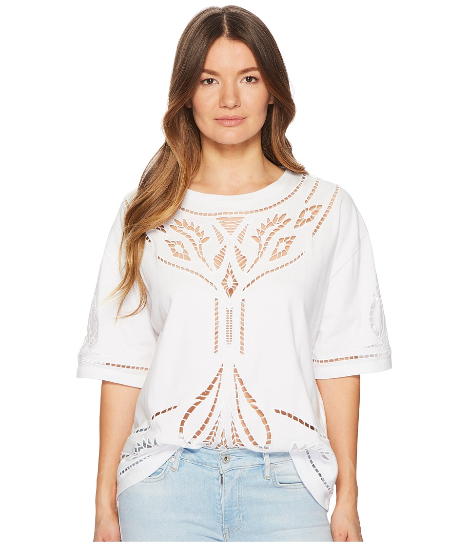Levis(r) Premium - Made Crafted Voodoo Lace Top (Bright White) Womens Clothing