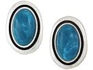 The Sak Large Stone Stud Earrings