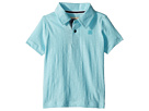 Lucky Brand Kids Short Sleeve Washed Polo (Toddler)