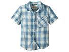 Lucky Brand Kids Short Sleeve Yarn-Dye Plaid Shirt (Little Kids/Big Kids)