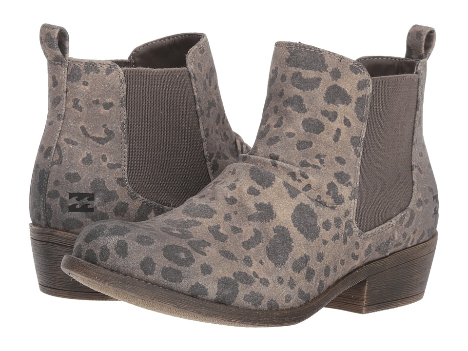 Billabong Sweet Surrender (Cheetah) Women's Pull-on Boots
