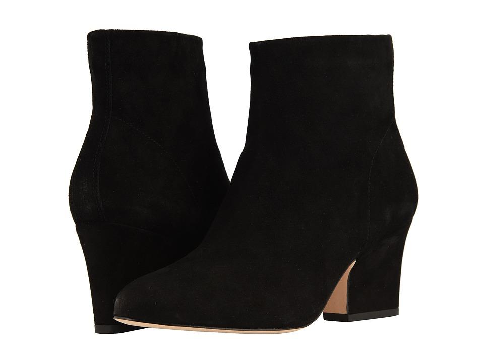 Johnston & Murphy Danni (Black Italian Kid Suede) Women's Shoes