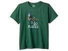 Life is Good Kids Life is Good Kids Go Places Bike Crusher T-Shirt (Little Kids/Big Kids)