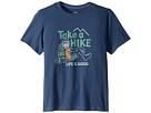 Life is Good Kids Life is Good Kids Take a Hike Crusher T-Shirt (Little Kids/Big Kids)
