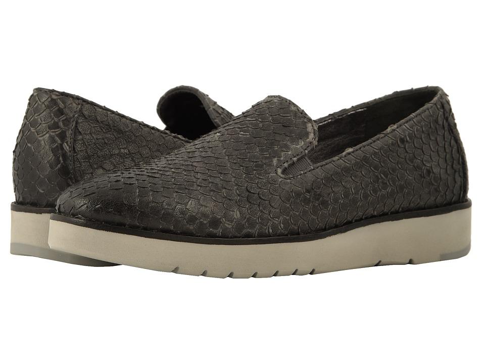 Johnston & Murphy Penelope (Dark Gray Italian Snake Print Leather) Slip-On Shoes