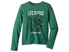 Life is Good Kids Life is Good Kids I'm not Lion Crusher T-Shirt Long Sleeve (Little Kids/Big Kids)