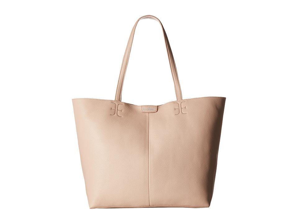 Sam Edelman Ilene Unlined Tote (Blush) Tote Handbags