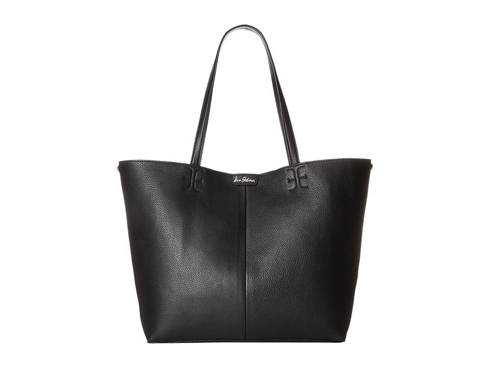Sam Edelman Ilene Unlined Tote (Black) Tote Handbags