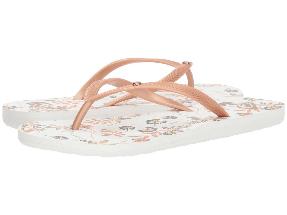 Roxy Bermuda II (Rose Gold) Sandals
