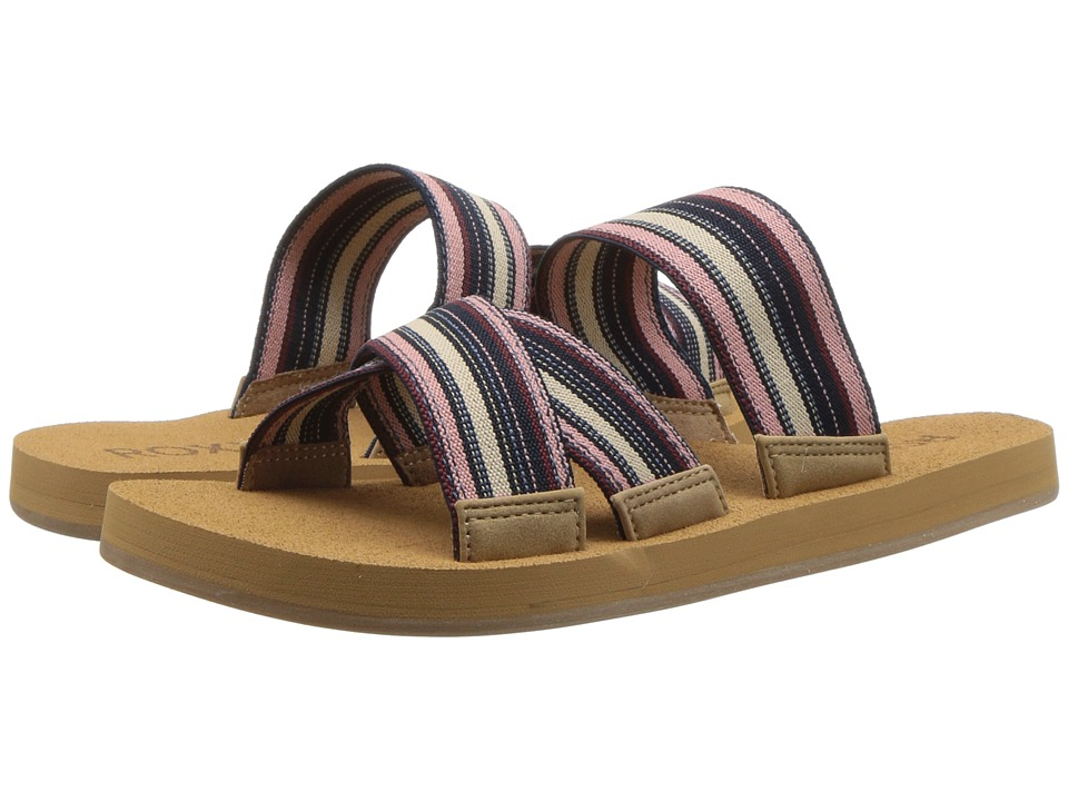 Roxy Shoreside (Dark Blue) Sandals