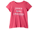 Life is Good Kids Peace, Love, Cupcakes Crusher T-Shirt (Little Kids/Big Kids)