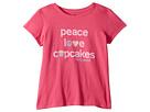 Life is Good Kids Life is Good Kids Peace, Love, Cupcakes Crusher T-Shirt (Little Kids/Big Kids)