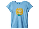 Life is Good Kids Outdoors Makes me Happy Crusher T-Shirt (Little Kids/Big Kids)