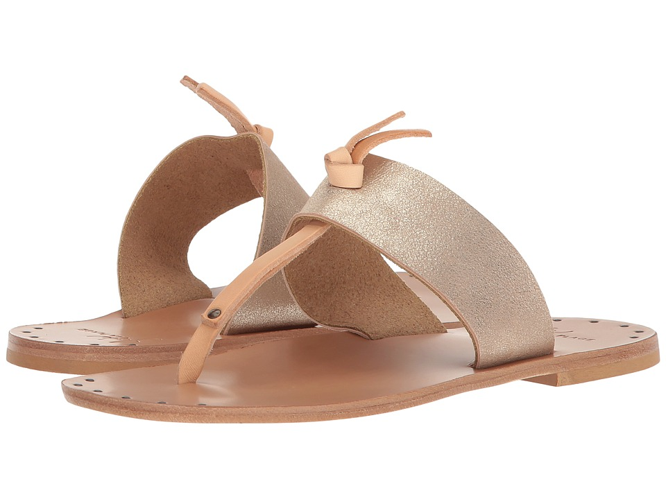 Joie - Baeli (Blush Metallic Kid Skin) Womens Flat Shoes