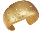 Cole Haan Wide Cuff Bracelet with Embedded Crystal Stones