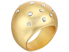 Cole Haan Tapered Dome Ring with Embedded Crystal Stones