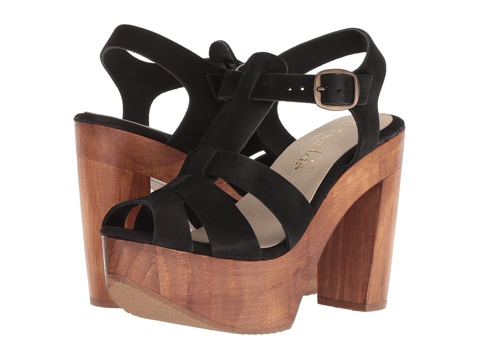 Cordani Tecate (Black Nubuck) High Heels