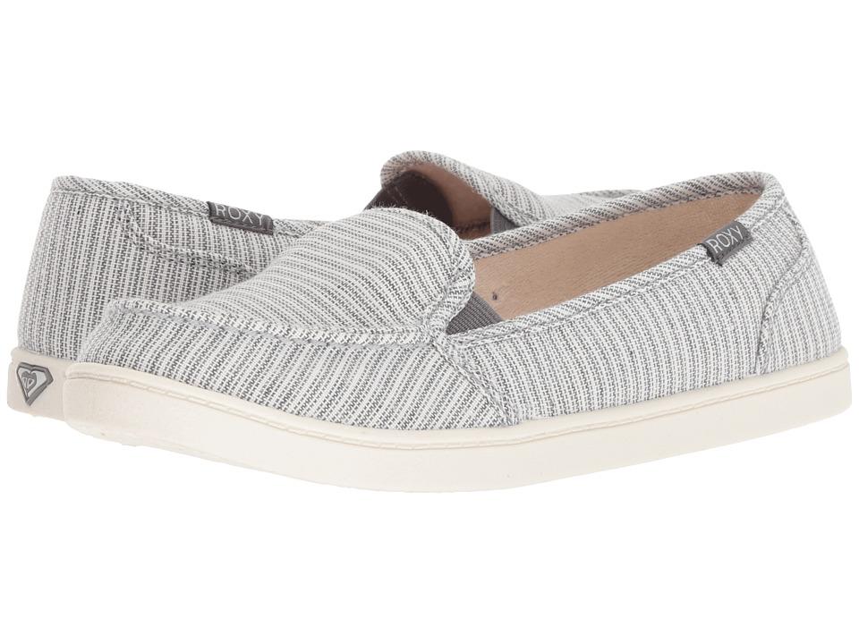 Roxy Minnow VI (Grey) Slip-On Shoes