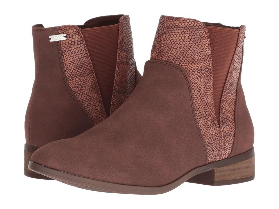 Roxy Linn (Brown) Women's Pull-on Boots