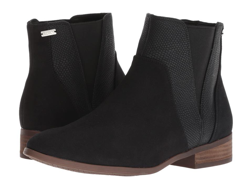 Roxy Linn (Black) Women's Pull-on Boots