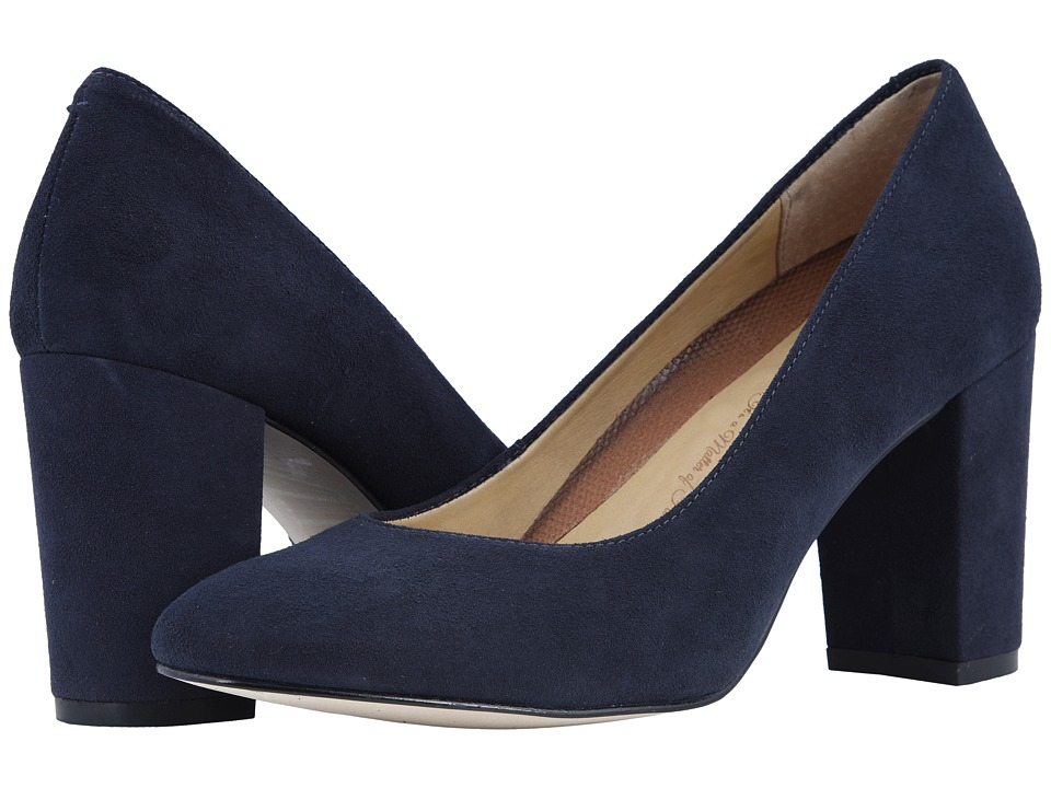 Walking Cradles Matisse (Navy Suede) High Heels