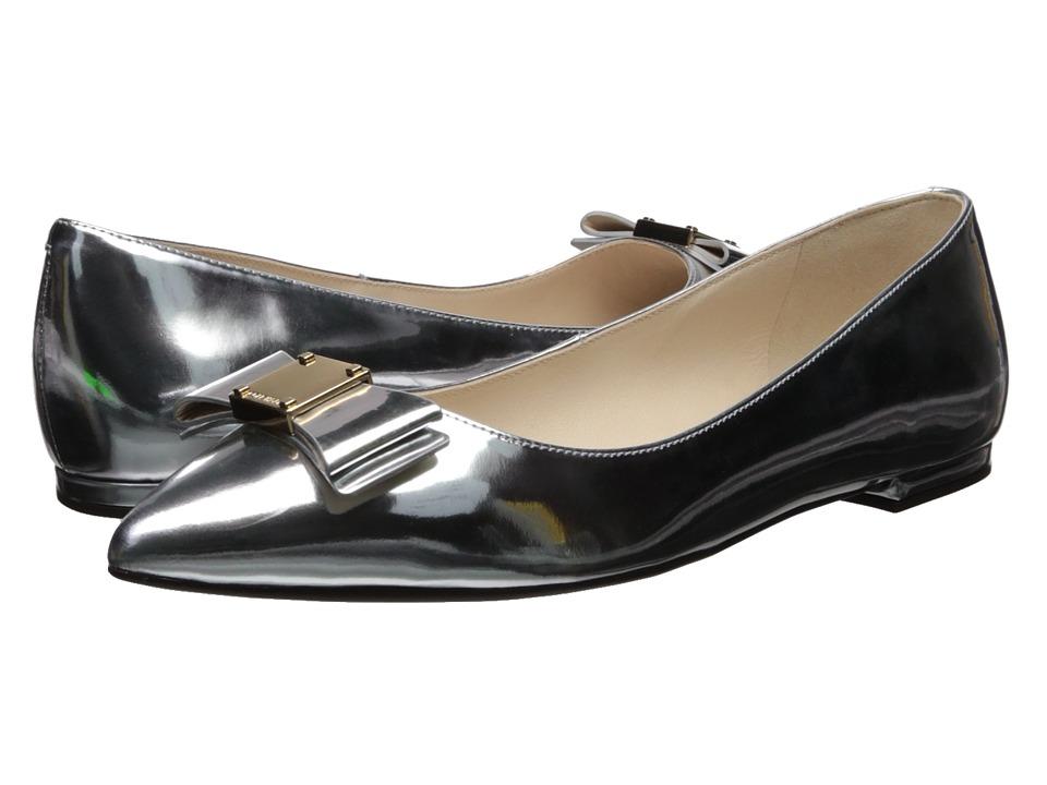 Cole Haan Tali Bow Skimmer (Cole Haan Argento Specchio) Women's Shoes