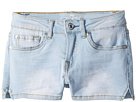 7 For All Mankind Kids Denim Shorts in Cloud Blue (Big Kids)
