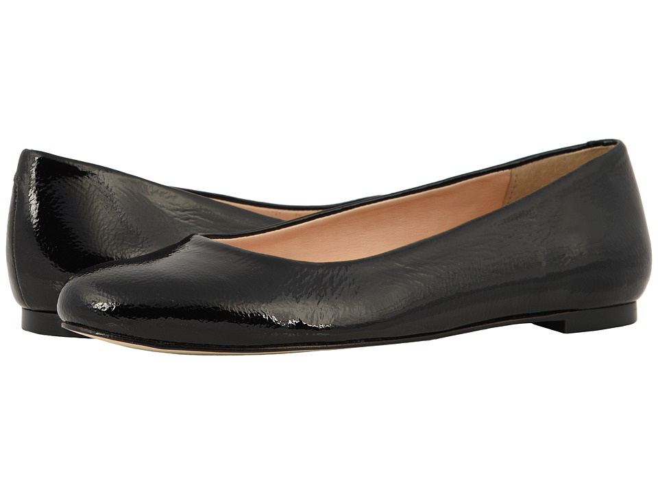 Walking Cradles Bronwyn (Black Tumbled Patent) Flats