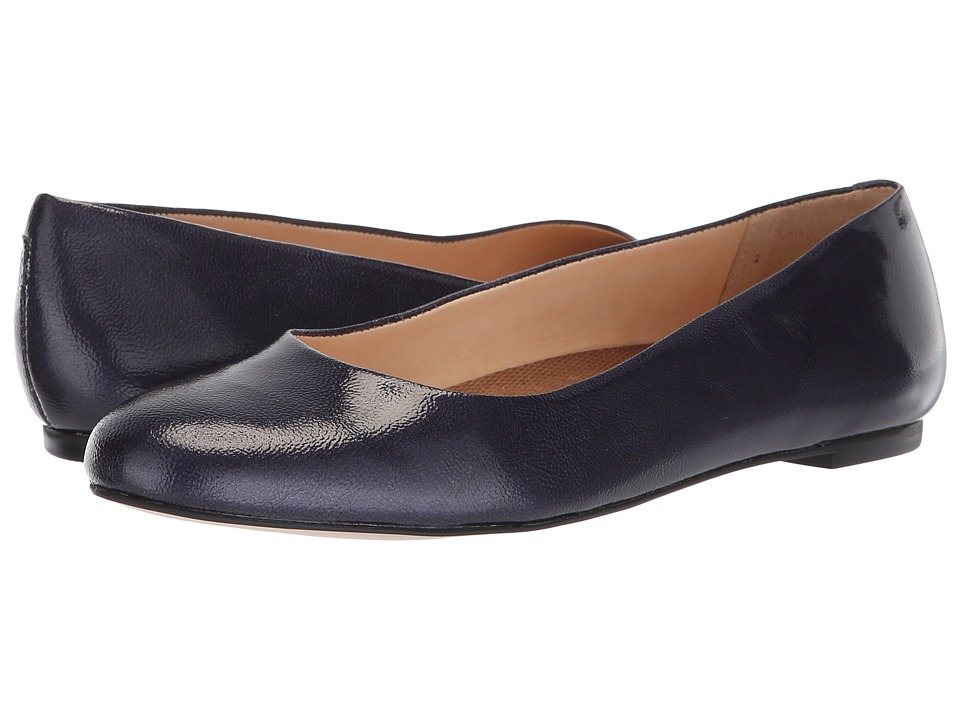 Walking Cradles Bronwyn (Navy Tumbled Patent) Flats