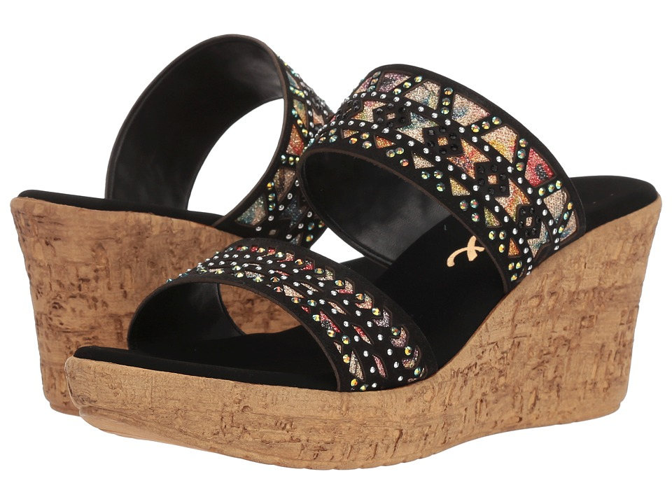 Onex Rubi (Black) Sandals