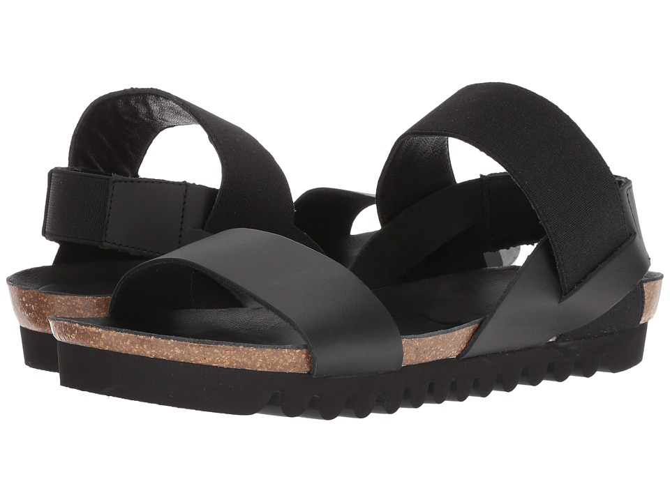 Cordani Luna (Black Leather) Sandals