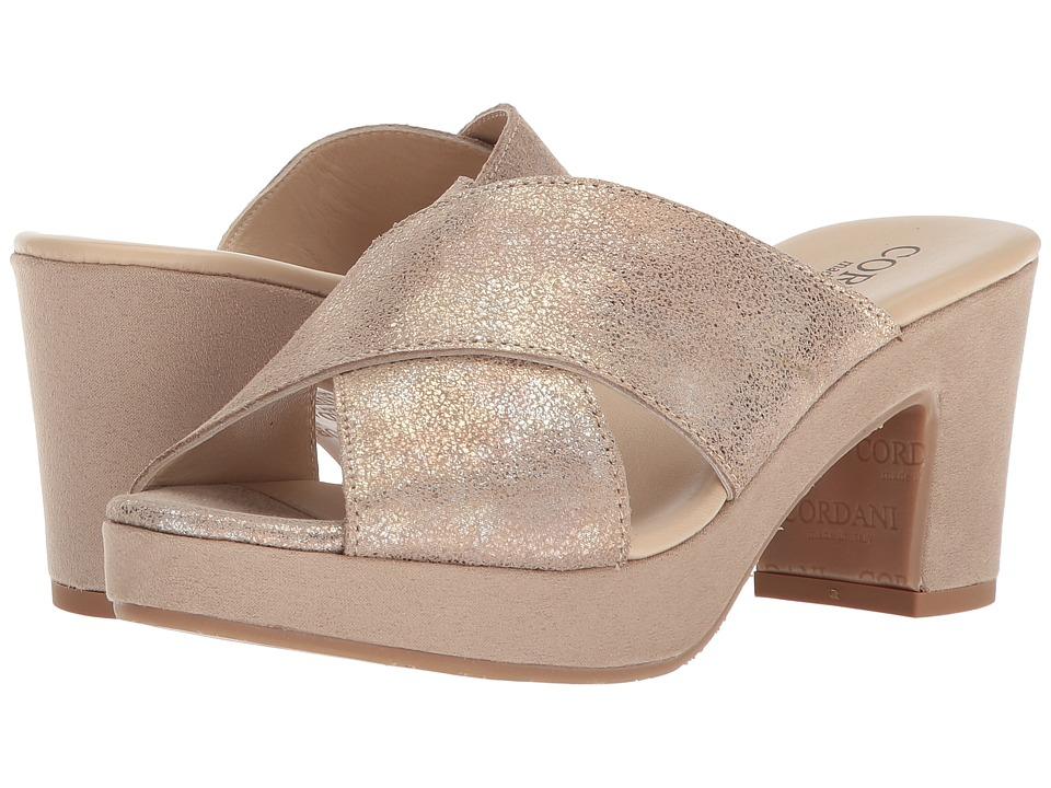 Cordani Kimbel (Dusty Gold) High Heels