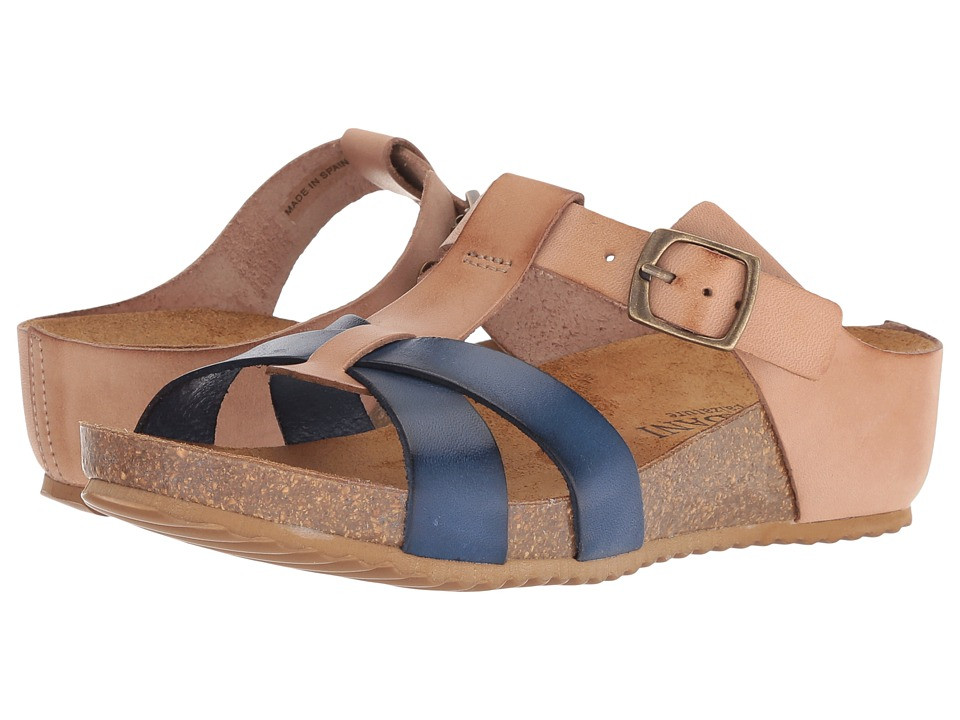 Cordani Malone (Brown/Blue Leather) Women