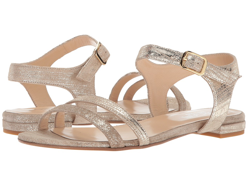 Cordani - Prowess (Platinum Hammered Leather) Women's Sandals
