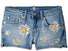 7 For All Mankind Kids Daisy Short Shorts (Big Kids)