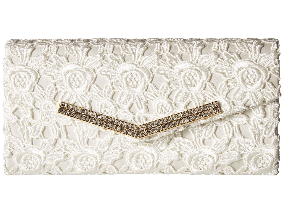 Jessica McClintock - Ashley Lace (Ivory) Handbags