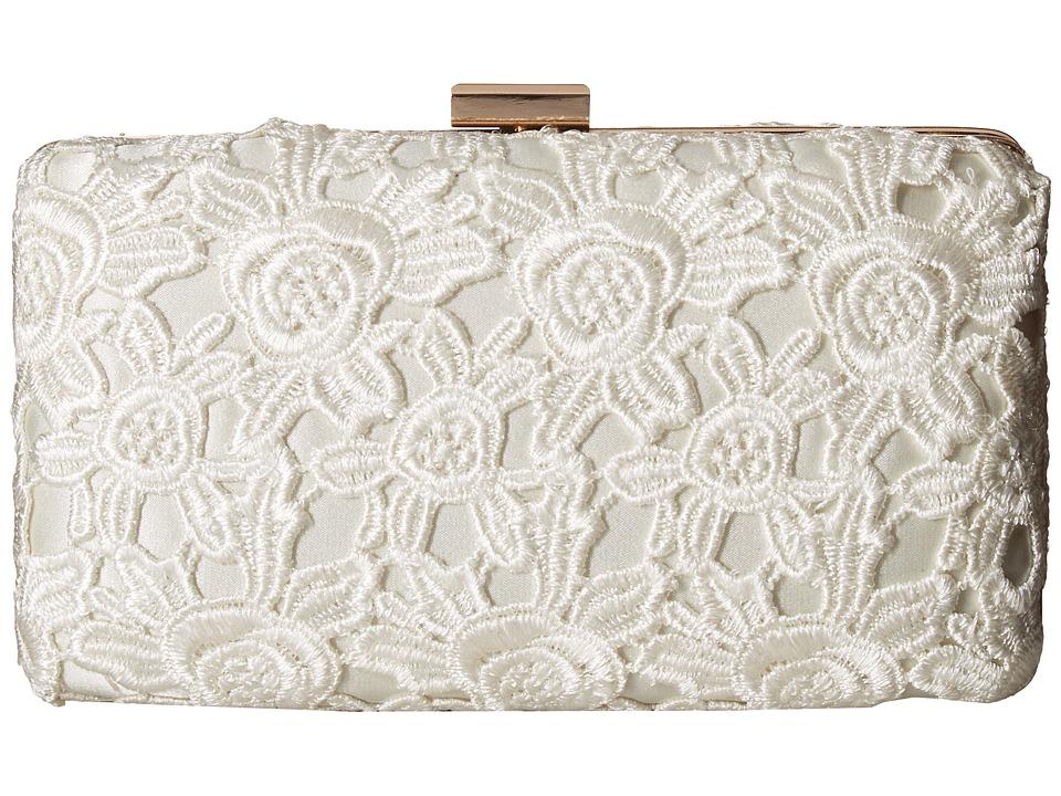 Jessica McClintock - Noelle Lace (Ivory) Handbags