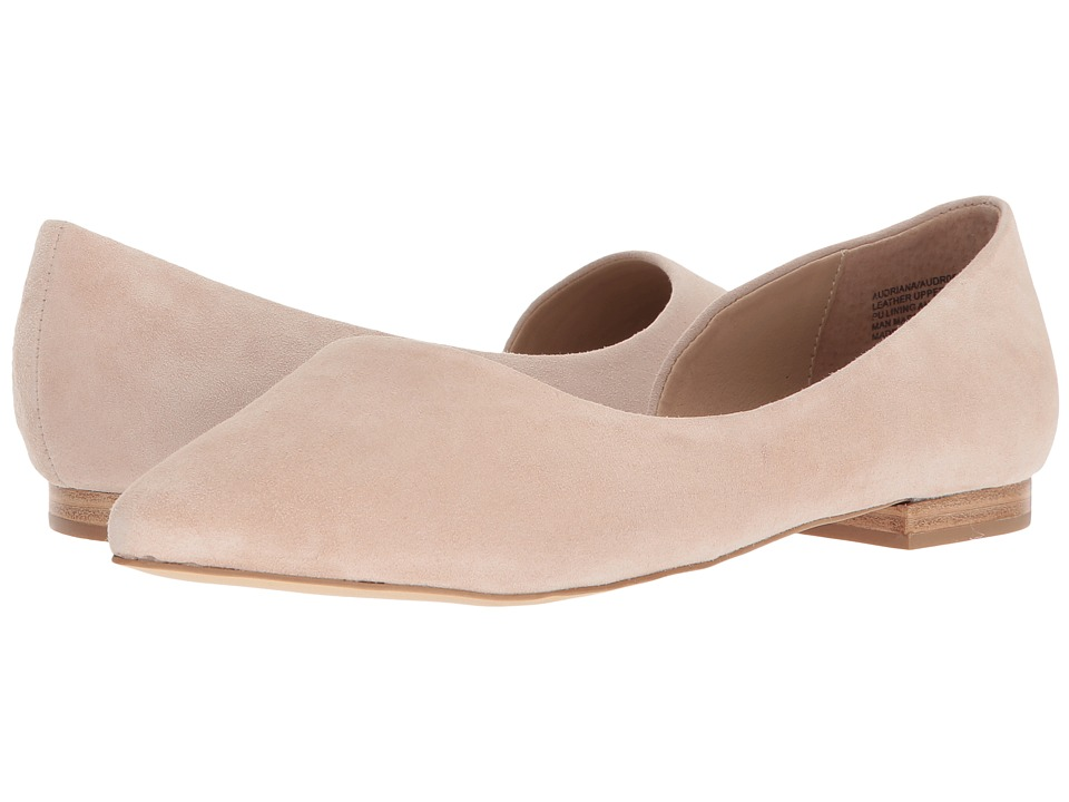Steve Madden Audriana Flat (Natural Suede) Women's Shoes