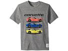 The Original Retro Brand Kids Corvette Short Sleeve Tri-Blend Tee (Big Kids)