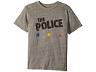 The Original Retro Brand Kids The Police Short Sleeve Tri-Blend Tee (Big Kids)