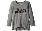 The Original Retro Brand Kids The Police 3/4 Tri-Blend Pullover (Big Kids)