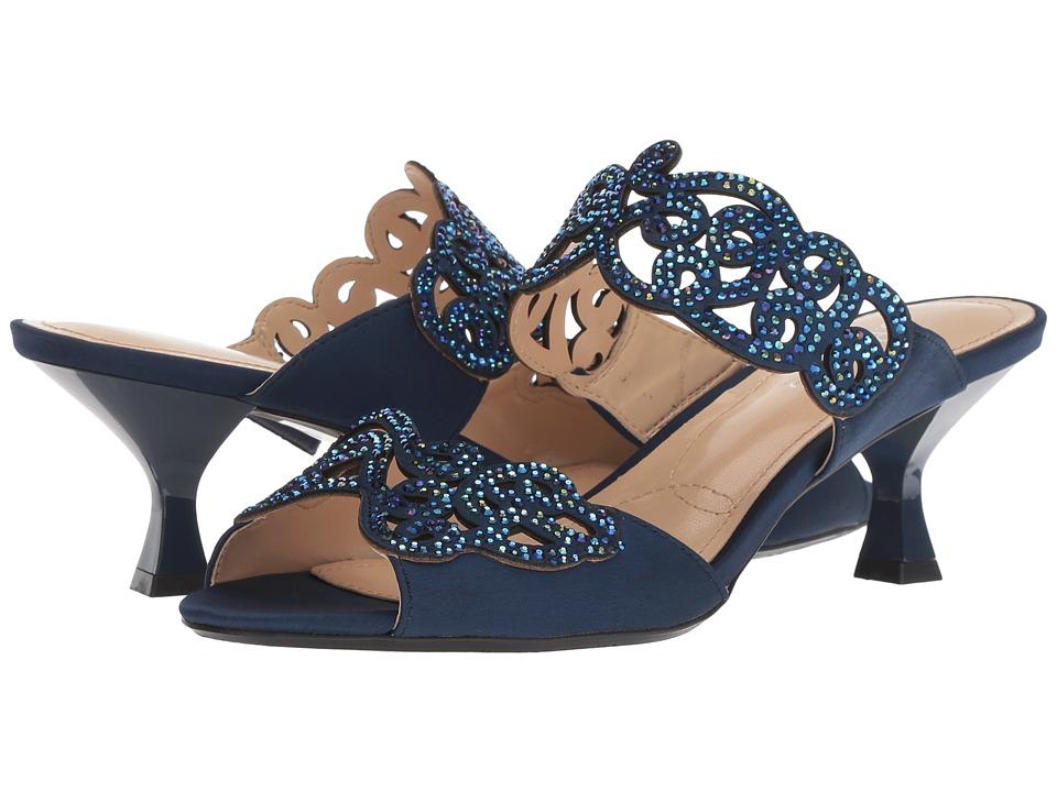 J. Renee Francie (Navy) High Heels