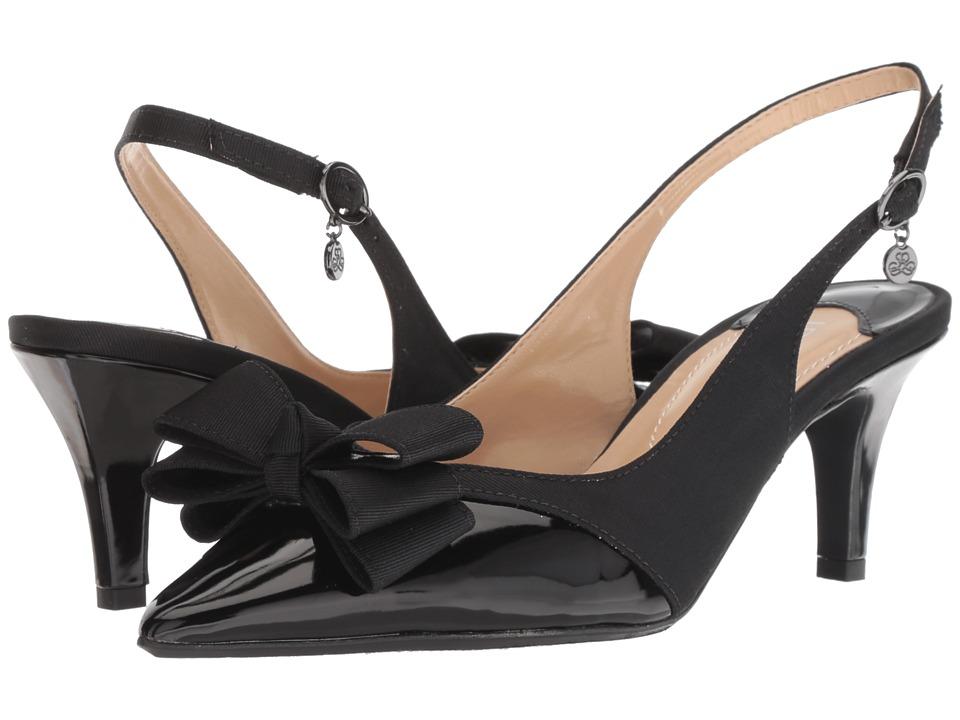 J. Renee Gabino (Black/Black) High Heels
