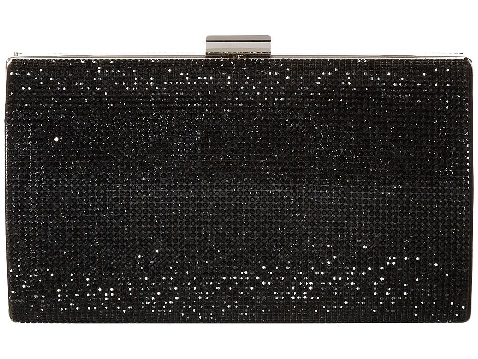 Jessica McClintock - Aspen Micro Stone (Black) Handbags