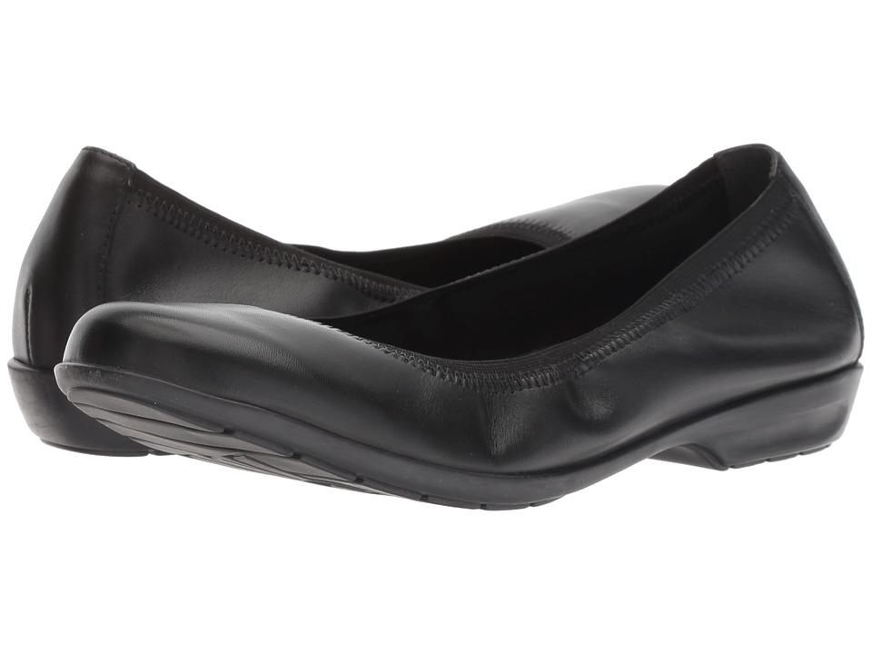 Walking Cradles Foley (Black Leather) Flats