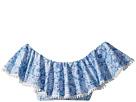 Seafolly Kids Boho Tile Ruffle Tank Bikini Top (Little Kids/Big Kids)