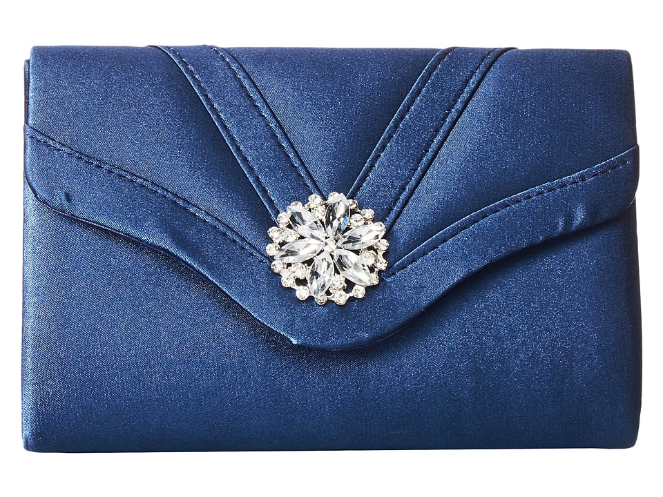 Jessica McClintock - Alexis Clutch (Navy 1) Clutch Handbags