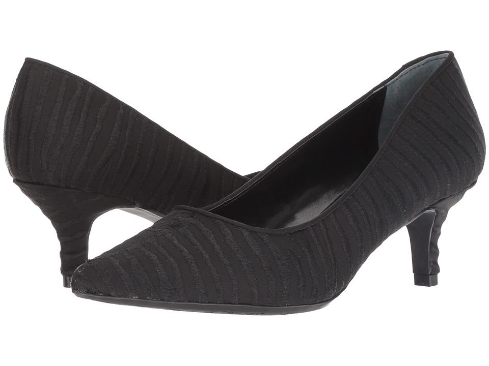 J. Renee Zelaina (Black/Black) High Heels