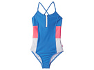 Seafolly Kids Summer Essential Color Block Tank One-Piece (Little Kids/Big Kids)